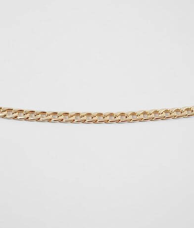 BKE Smooth Gold Necklace
