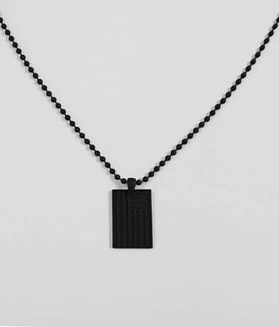 BKE Flag Pendant Necklace