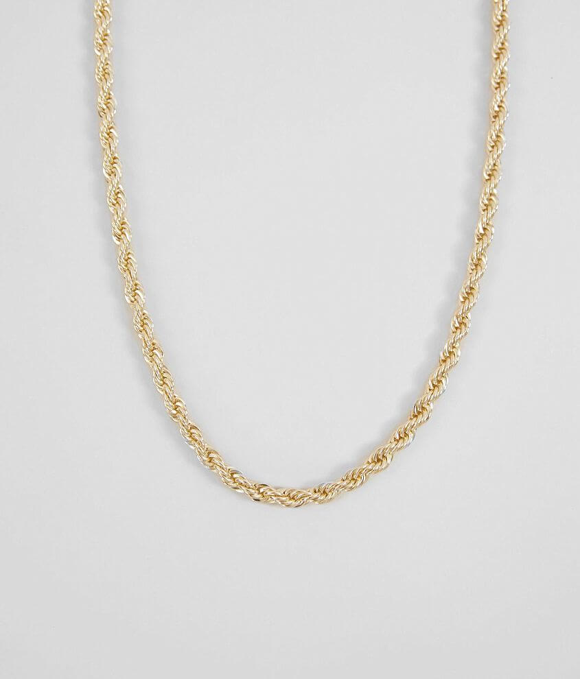 BKE Gold Chain Necklace front view