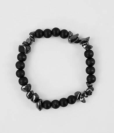 BKE Hematite Stone Bracelet