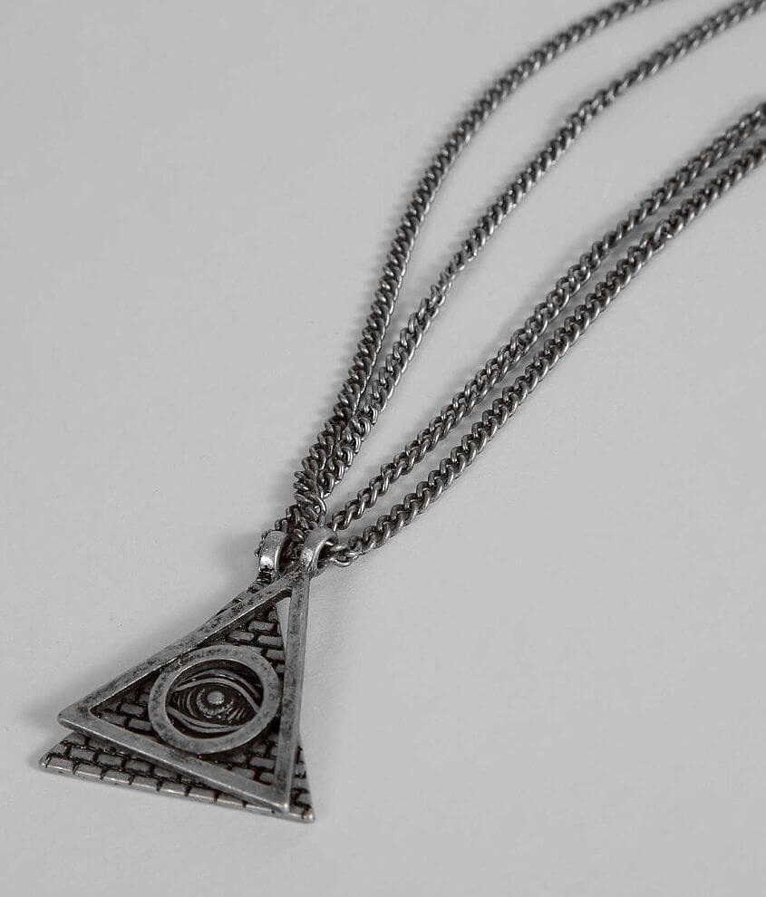 Triangle Necklace Set front view