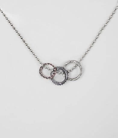 BKE Triple Ring Necklace