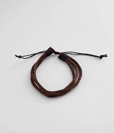 BKE Faux Leather Bracelet
