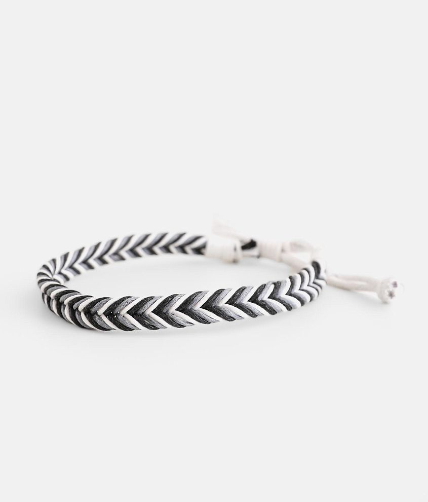 BKE Rope Braided Bracelet front view