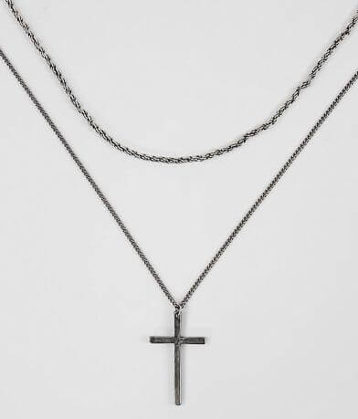 BKE Cross Necklace Set