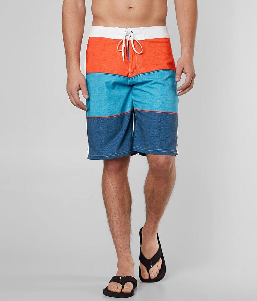 BKE Elevate Stretch Boardshort front view