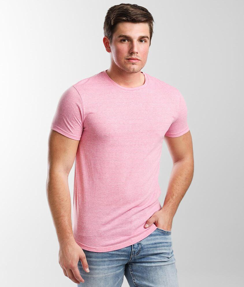 BKE Link Striped T-Shirt front view