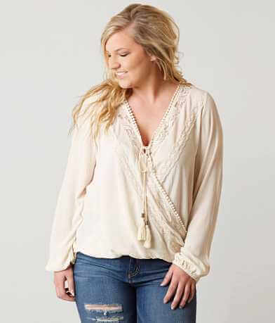 Coco + Jaimeson Surplice Top - Plus Size Only