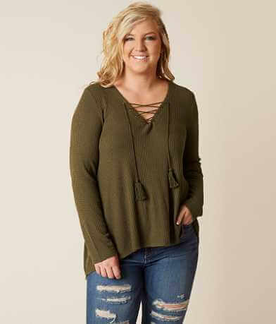 Coco + Jaimeson Thermal Top - Plus Size Only