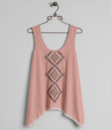 Coco + Jaimeson Embroidered Tank Top