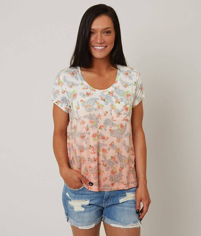 Coco + Jaimeson Printed Top front view