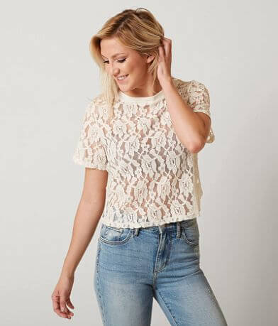 Coco + Jaimeson Lace Top