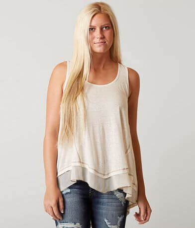 Coco + Jaimeson Pieced Tank Top
