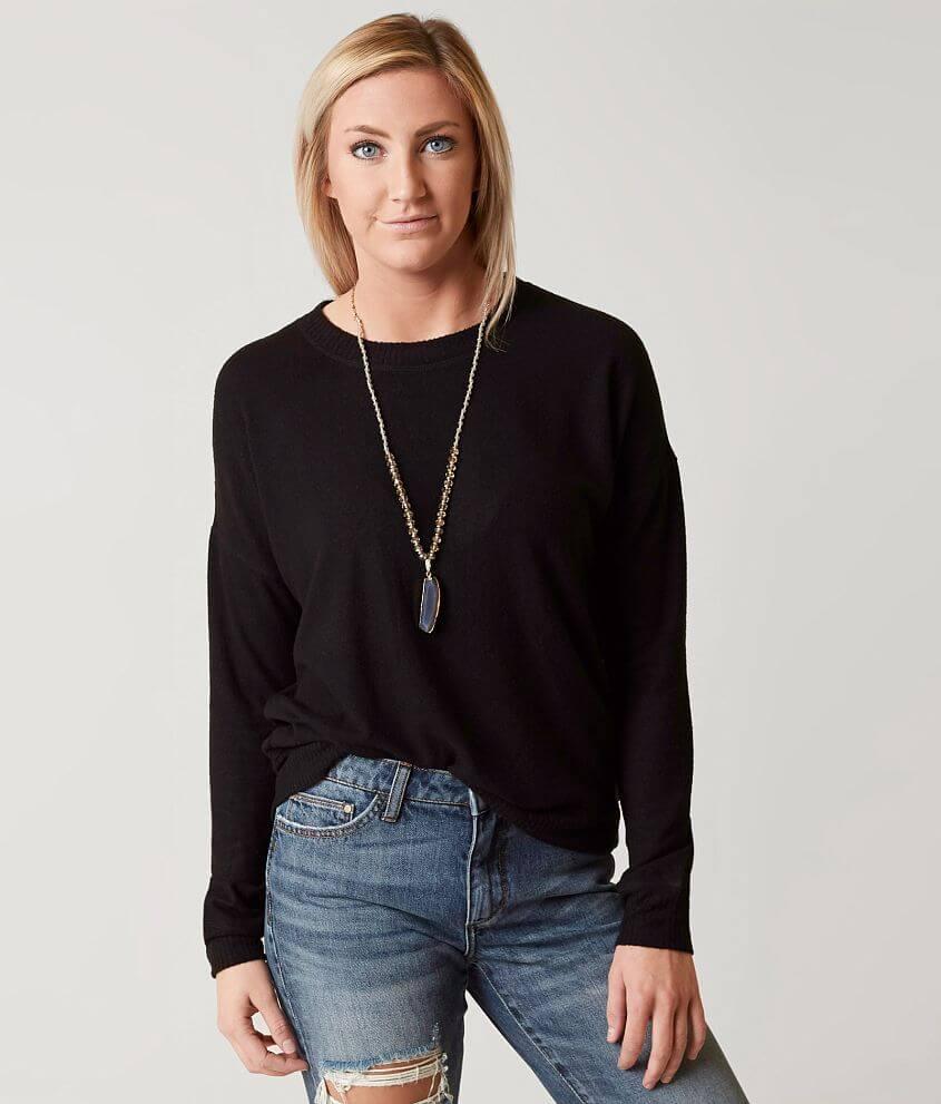 Coco + Jaimeson Fleece Sweatshirt front view
