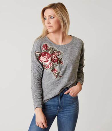 Coco + Jaimeson Ruched Sweatshirt