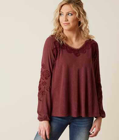 Coco + Jaimeson Embroidered Top