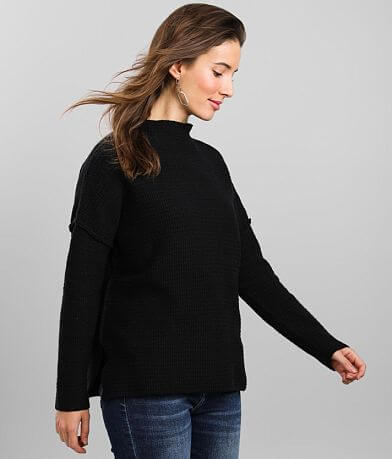 Coco + Jaimeson Mock Neck Sweater
