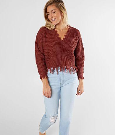 Coco + Jaimeson Destructed Sweater