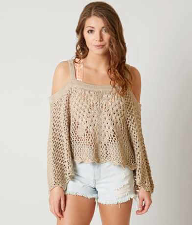 Coco + Jaimeson Cold Shoulder Sweater