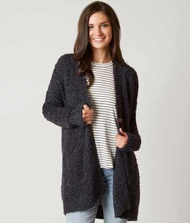 Coco + Jaimeson Open Weave Cardigan Sweater