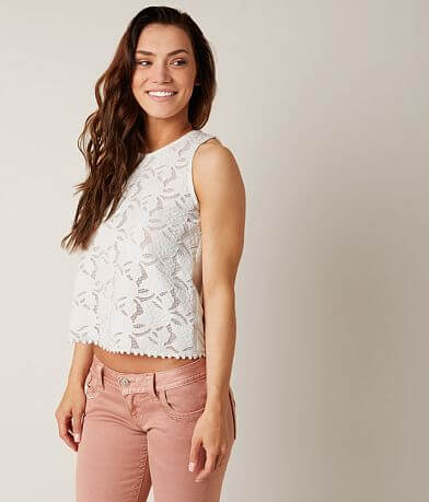 Coco + Jaimeson Lace Tank Top