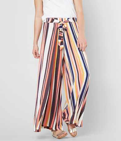 Coco + Jaimeson Striped Wide Leg Pant