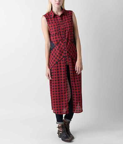 Coco + Jaimeson Chiffon Maxi Shirt