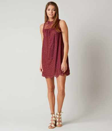 Coco + Jaimeson Eyelash Lace Dress