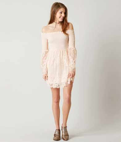 Coco + Jaimeson Shirred Dress