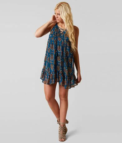 Coco + Jaimeson Chiffon Dress