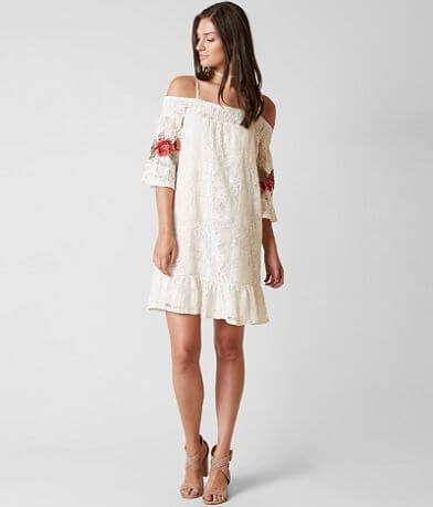 Coco + Jaimeson Cold Shoulder Dress