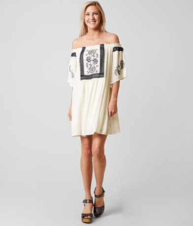 Coco + Jaimeson Embroidered Dress