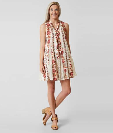 Coco + Jaimeson High Neck Dress