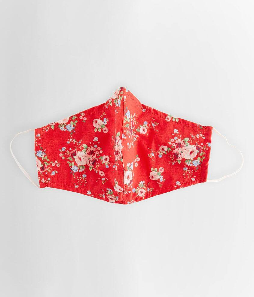 Famma Floral Face Mask front view
