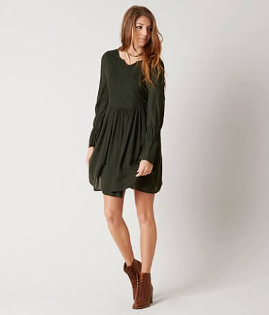 Taylor & Sage Pleated Dress