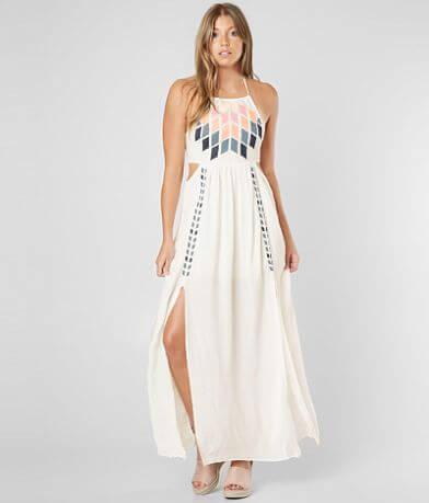 Skylar & Jade Embroidered Maxi Dress