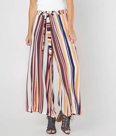 Skylar & Jade Striped Wide Leg Pant