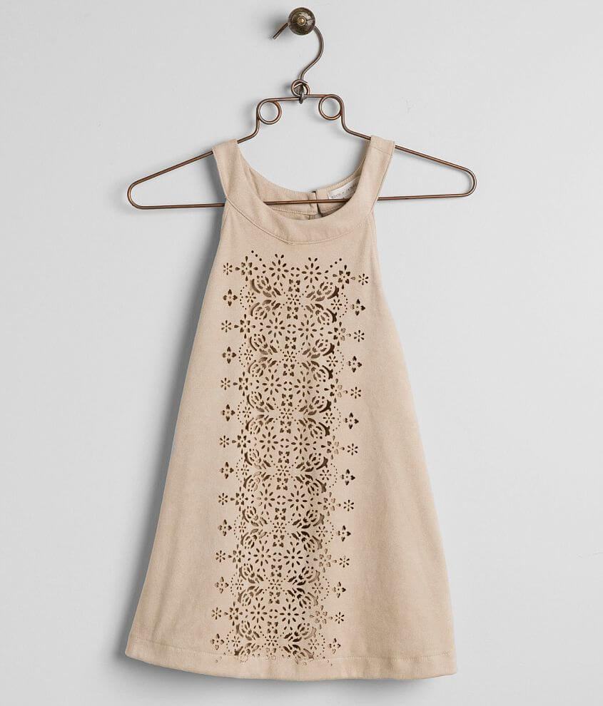 Coco + Jaimeson Laser Cut Tank Top front view