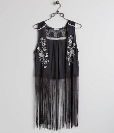 Coco + Jaimeson Embroidered Vest