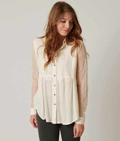 Coco + Jaimeson Lace Shirt