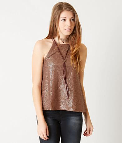 Coco + Jaimeson Sequin Tank Top