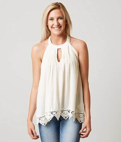 Coco + Jaimeson Open Back Tank Top