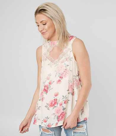 Coco + Jaimeson Floral Print Tank Top