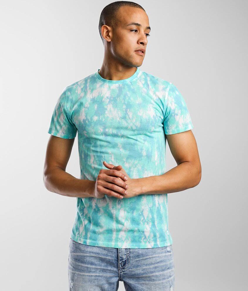 Departwest Vibez Tie Dye T-Shirt front view