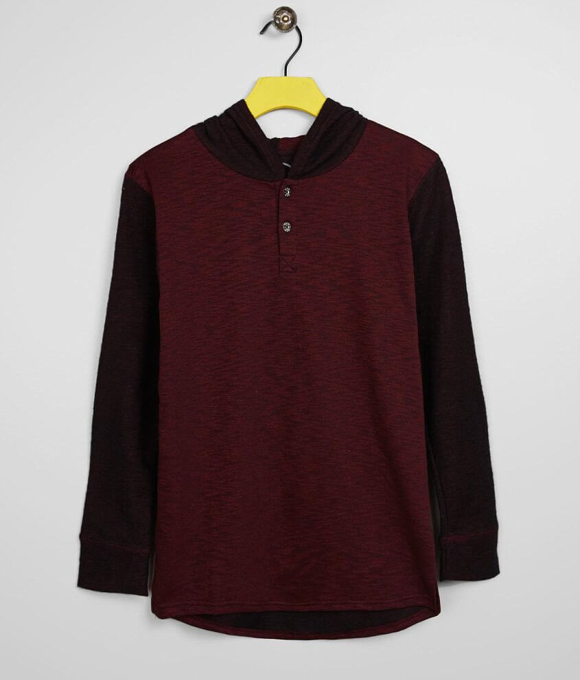 Boys - BKE Canopy Henley Hoodie front view