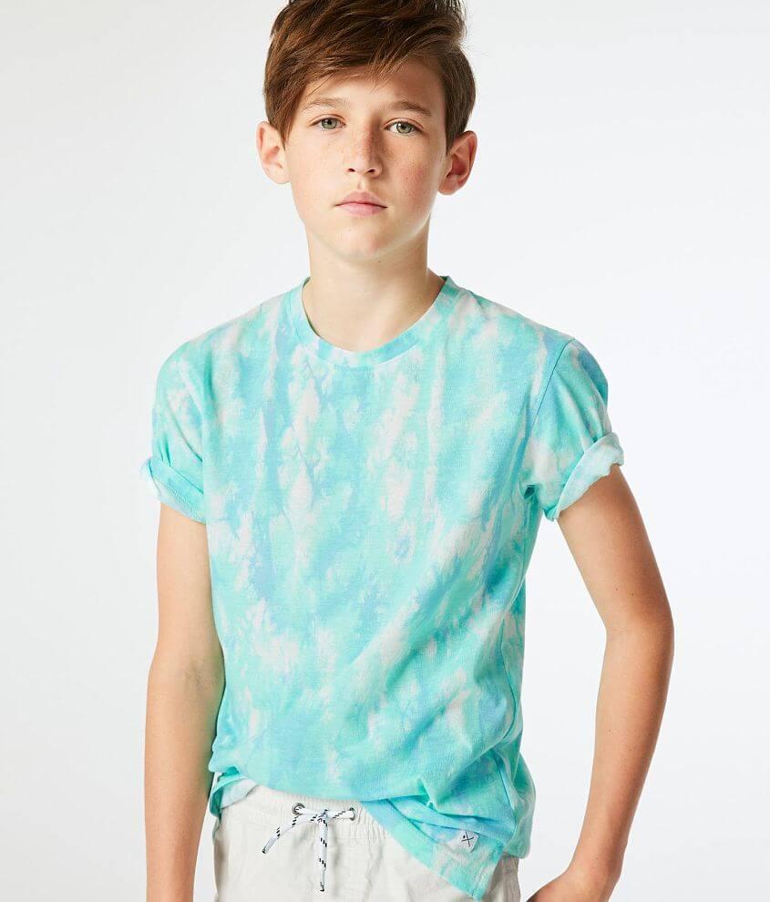 Boys - Departwest Vibez Tie Dye T-Shirt front view