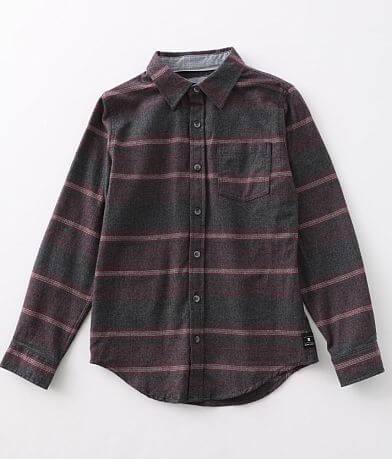 Boys - Ocean Current Rockford Flannel Shirt
