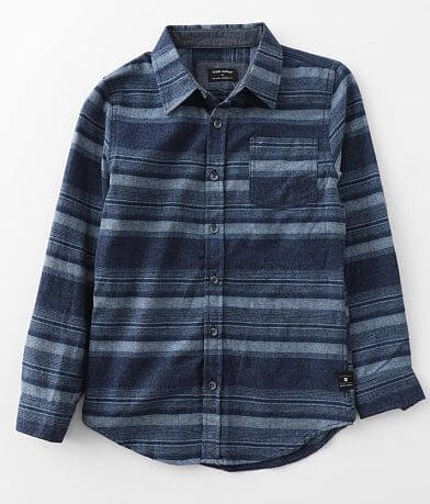 Boys - Ocean Current Spokane Flannel Shirt