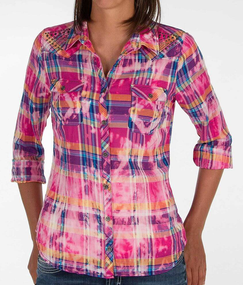 Daytrip Plaid Shirt front view