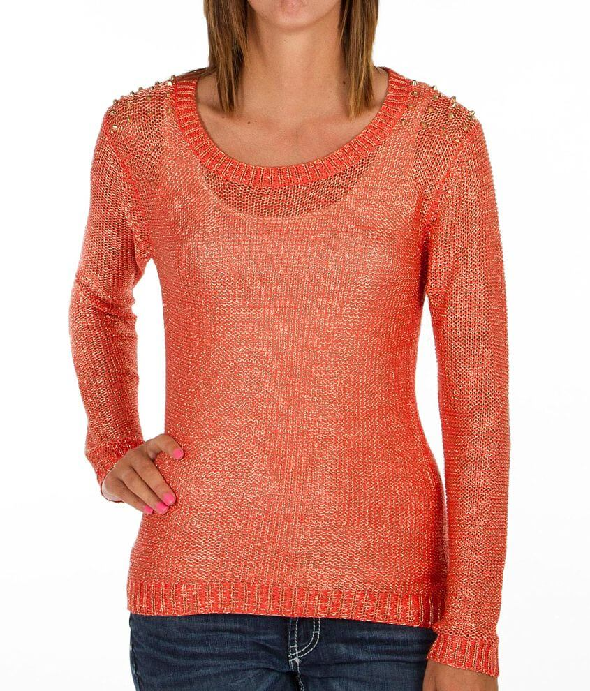 Daytrip Studded Sweater front view